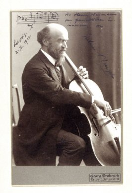 Julius Klengel, cellist