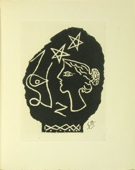 Untitled illustration after Georges Braque in the book Du cubisme (Paris: Compagnie Française des Arts Graphiques, 31 July 1947).