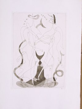 Untitled, pg.21, in the book Theogonie (Theogony) by Hesiode (Paris: Adrien Maeght, 1955).