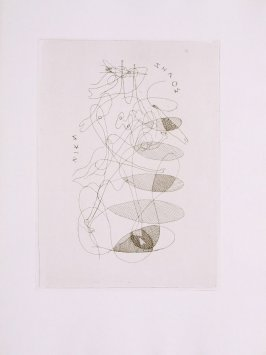 Untitled, pg.55, in the book Theogonie (Theogony) by Hesiode (Paris: Adrien Maeght, 1955).