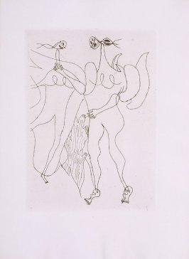 Untitled, pg.61, in the book Theogonie (Theogony) by Hesiode (Paris: Adrien Maeght, 1955).