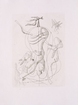 Untitled, pg.74, in the book Theogonie (Theogony) by Hesiode (Paris: Adrien Maeght, 1955).