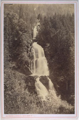 Le Giessbach à Brienz (Mountain Waterfall at Brienz)