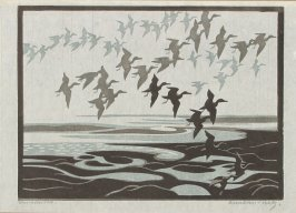 Untitled (Birds in Flight)