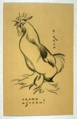 Rooster Crowing (Frohe Ostern!/ Happy Easter!)