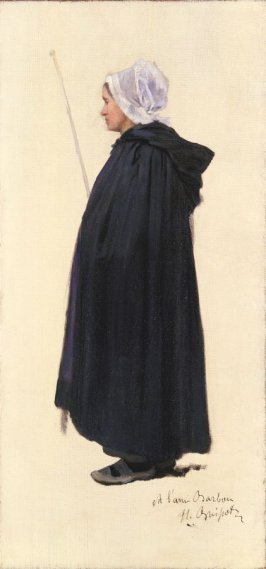 Study of a Breton Woman