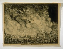 Tremendous Conflagration of Columbia, July 10th 1854