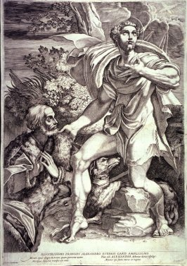 St. Roch Interceding for the Divine Protection of a Donor