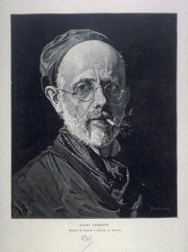 Portrait of Henri Lehmann