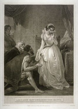 Lady Jane Grey Declining the Crown