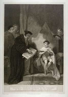 Cranmer Urging Edward VI. to Consent to the Execution of Joan of Kent