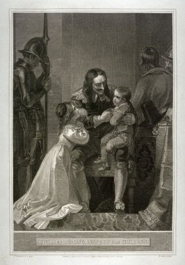 Charles I. Taking Leave of his Children