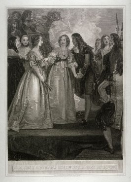 Charles II Receiving the Dss. of Orleans at Dover