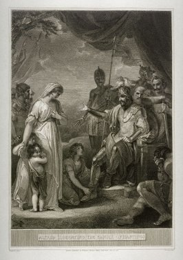 Alfred Liberating the Family of Hastings