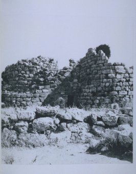 Stone ruin with doorway, page in the book Sardinia (Oakland: Crown Point Press, 1975)