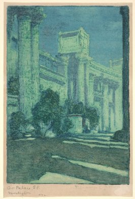Art Palace, S.F. Moonlight (Panama-Pacific International Exposition)