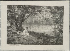 Nude by a Lake or Experiment