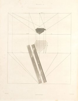 Plate 3 in the book The Principles of practical Perspective… (London: Leigh and Son…, 1835), part 1