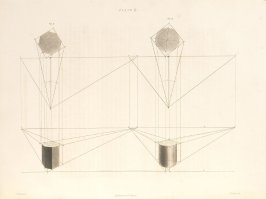 Plate 6 in the book The Principles of practical Perspective… (London: Leigh and Son…, 1835), part 1