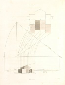 Plate 10 in the book The Principles of practical Perspective… (London: Leigh and Son…, 1835), part 1