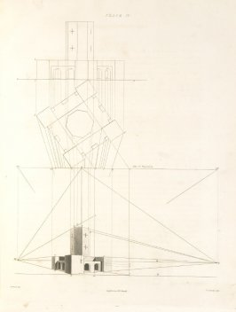 Plate 11 in the book The Principles of practical Perspective… (London: Leigh and Son…, 1835), part 1