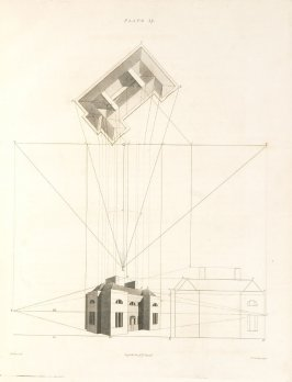 Plate 13 in the book The Principles of practical Perspective… (London: Leigh and Son…, 1835), part 1