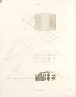 Plate 14 in the book The Principles of practical Perspective… (London: Leigh and Son…, 1835), part 1