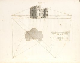 Plate 15 in the book The Principles of practical Perspective… (London: Leigh and Son…, 1835), part 1