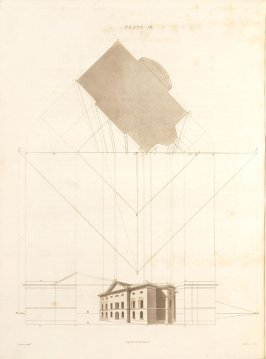 Plate 16 in the book The Principles of practical Perspective… (London: Leigh and Son…, 1835), part 1