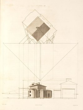 Plate 17 in the book The Principles of practical Perspective… (London: Leigh and Son…, 1835), part 1