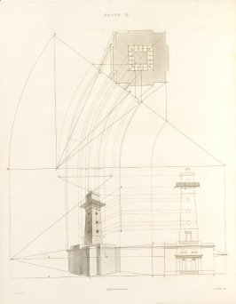 Plate 18 in the book The Principles of practical Perspective… (London: Leigh and Son…, 1835), part 1