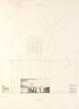 Plate 20 in the book The Principles of practical Perspective… (London: Leigh and Son…, 1835), part 1