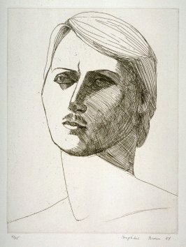 Portrait of John, plate 9 in the portfolio Twenty Etchings