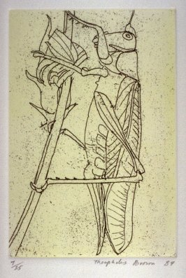 Grasshopper, plate 6 in the portfolio Twenty Etchings
