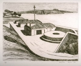 Baker's Beach, plate 18 in the portfolio Twenty Etchings