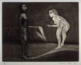 The Attack, plate 1 in the portfolio Twenty Etchings