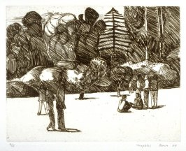In the Park, plate 19 of the portfolio Twenty Etchings