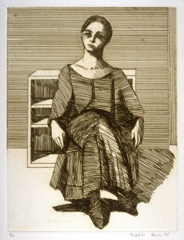 Patricia, plate 20 in the portfolio Twenty Etchings