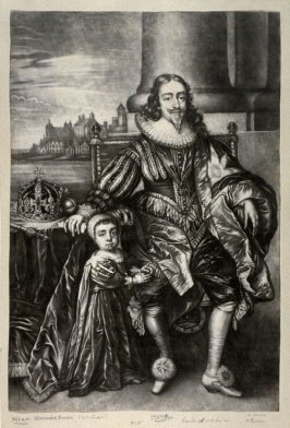 Charles I with his son