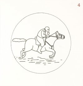 Untitled (Man on Horse), page 4 in Another Name / General Instruction