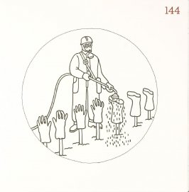 Untitled (Washing Boots and Gloves), page 144 in Another Name / General Instruction