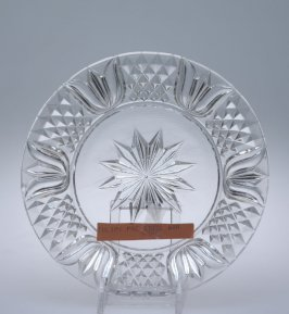 Plate with Tulip pattern