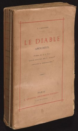 Le Diable Amoureux [The Devil in Love] by J. Cazotte (Paris: A. Quantin, 1878)