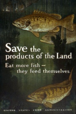 Save the Products of the Land - World War I Poster