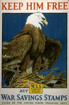 Keep Him Free - World War I Poster