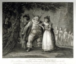 Falstaff at Hern's Oak - Shakespeare, Merry Wives of Windsor, Act V, Scene 5