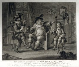 Sir Andrew Aguecheek, Sir Toby Belch, & the Clown - Shakespeare - Twelfth Night, Act II, Scene 3