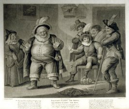 Falstaff Playing the Prince, The Prince Playing the King - Shakespeare - Henry IV, Part I, Act II, Scene IV
