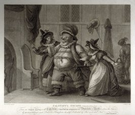 Shakespeare - Falstaff,s Escape - The Merry Wives of Windsor,Act 4, Scene 2.