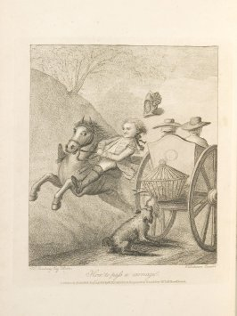 How to Pass a Carriage, plate opposite page 31 in An Academy for grown Horsemen… (London: Hooper and Wigstead, 1796)